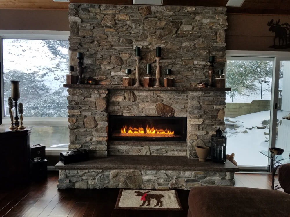 low quality Boat Header Fireplace Doctor
