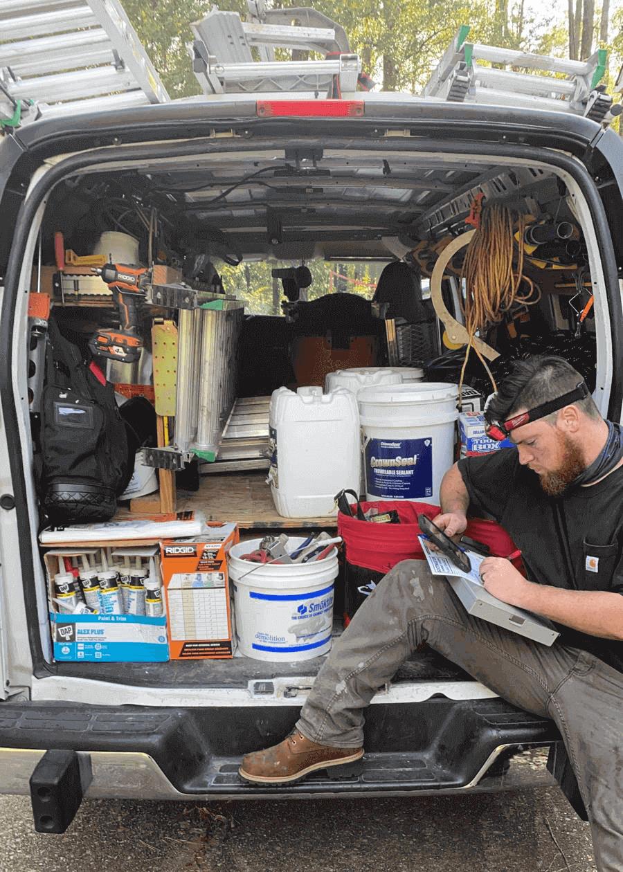 Chimney Sweep Technician
