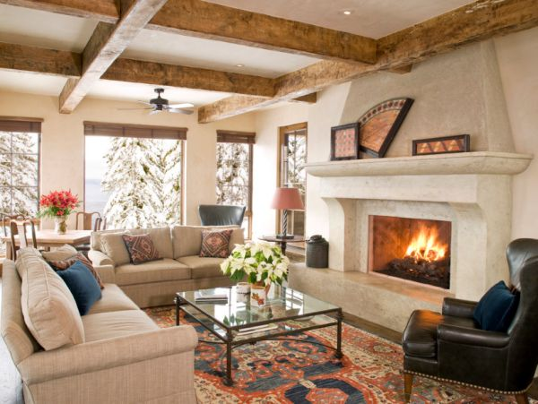 Fireplace-in-the-living-room