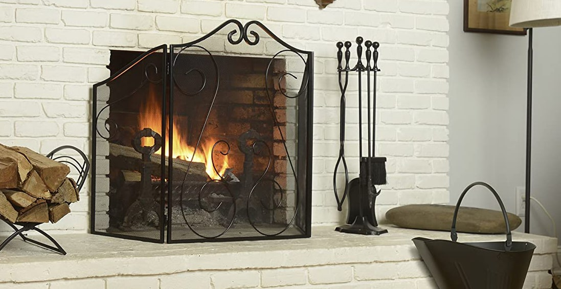 fire & fireplace set