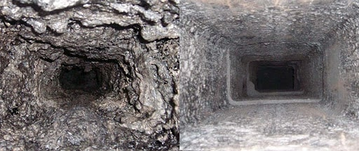 Before & After Flue Pipe